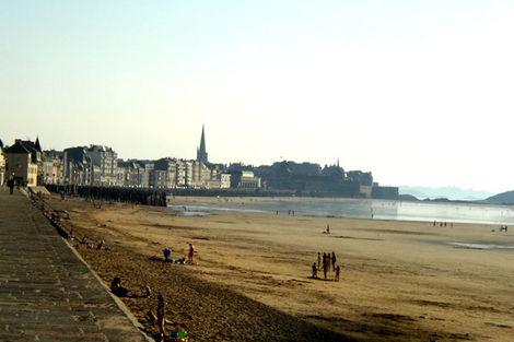 Plage de Saint-Malo - Antinéa France Bretagne - Saint Malo