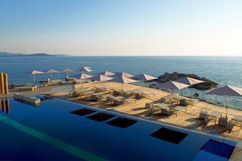 piscine extérieure - Sofitel Golfe d'Ajaccio Thalassa Sea & Spa France Corse - Porticcio