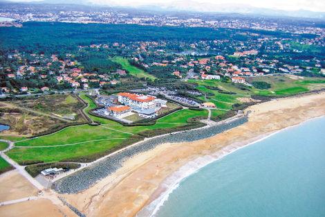 Vue aérienne hôtel - Atlanthal France Cote Atlantique - Anglet