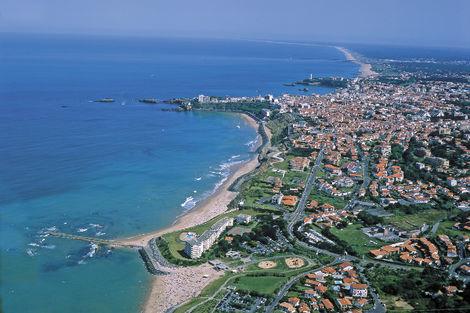 Vue aérienne Biarritz - Le Biarritz & Thalasso France Cote Atlantique - Biarritz
