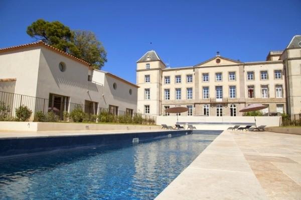 Piscine - Hôtel Chateau de la Redorte 4*
