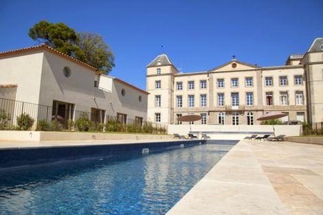 Piscine - Chateau de la Redorte France Languedoc-Roussillon - La Redorte