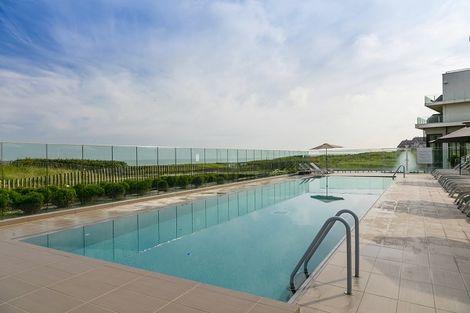 piscine exterieure - Thalazur Les bains de Cabourg France Normandie - Cabourg