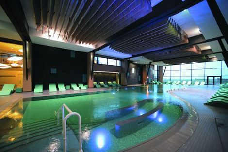 Thalasso normandie s jour week end h tel soins et for Spa piscine ile de france