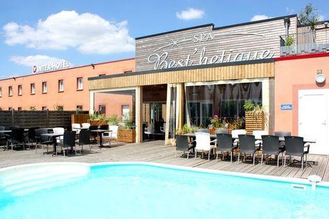 Piscine - Inter-Hôtel Beuzeville France Normandie - Deauville