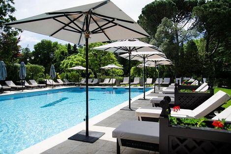 piscine extérieure - Le Vallon de Valrugues & Spa France Provence-Cote d Azur - Saint Remy De Provence