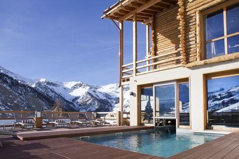 piscine extérieure - & Spa Alta Peyra France Provence-Cote d Azur - Saint-Véran