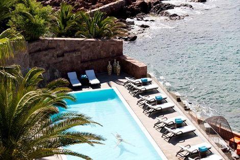 piscine - Tiara Miramar Beach Hôtel  France Provence-Cote d Azur - Theoule