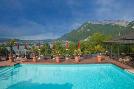 Piscine - Les Trésoms France Rhone-Alpes - Annecy