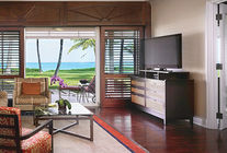 Salon Chambre Vue Mer - One & Only Ocean Club aux Bahamas