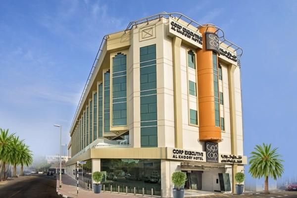 Facade - Hôtel Al Khoory Executive 3*