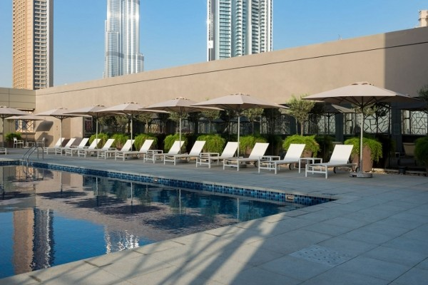 Piscine - Rove Downtown à Dubaï