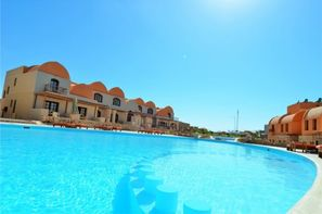 Egypte-Hurghada, Hôtel Rohanou Ecolodge & Beach Resort
