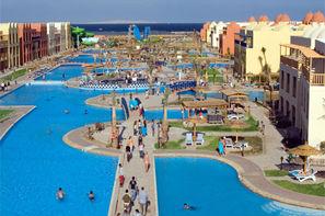 Egypte-Hurghada, Hôtel Titanic Resort & Aqua Park