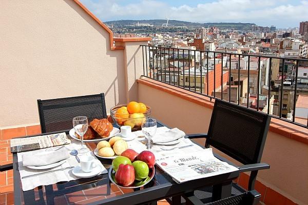 h tel pierre vacances r sidence barcelona sants barcelone espagne partir pas cher. Black Bedroom Furniture Sets. Home Design Ideas