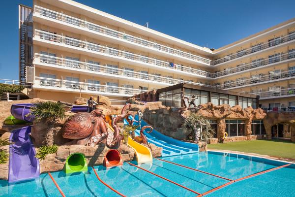 h tel evenia olympic park lloret de mar espagne ecotour. Black Bedroom Furniture Sets. Home Design Ideas