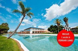 Espagne-Salou, Hôtel Caribe avec accès illimité à PortAventura Park et une entrée à Ferrari Land