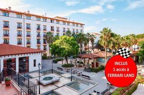 Espagne-Salou, Hôtel El Paso avec accès illimité à PortAventura Park et une entrée à Ferrari Land