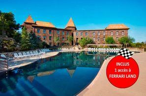 Espagne-Salou, Hôtel Gold River avec accès illimité à PortAventura Park et une entrée à Ferrari Land