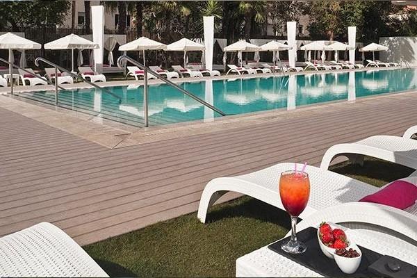 H tel melia lebreros seville espagne partir pas cher - Seville hotel piscine ...
