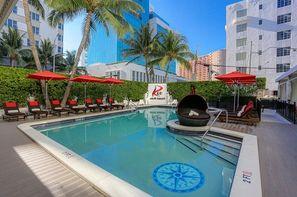 Etats-Unis-Miami, Hôtel Red South Beach