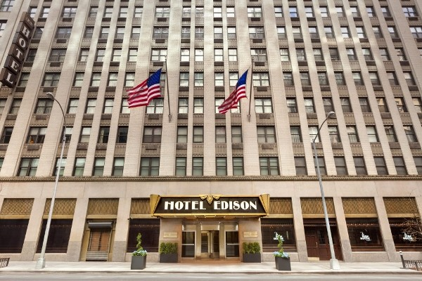 Facade - Hôtel Edison 3*