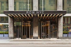 Etats-Unis - New York, Hôtel Row Hotel