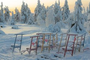 Finlande-Ivalo, Hôtel Arctic Club Savukoski
