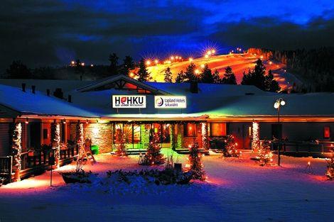 Hôtel Splendeurs de Laponie à l'hôtel Sirkantähti 3* - KITTILA - FINLANDE