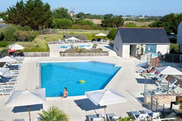 Piscine - Résidence hôtelière Club Soleil Vacances Batz-sur-Mer  2*