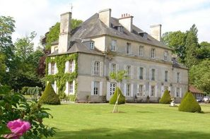 France Normandie - Le Breuil en Bessin, Hôtel Le Chateau de Goville