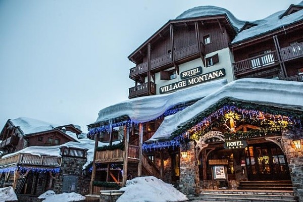 H tel village montana tignes france rhone alpes partir for Hotel design rhone alpes