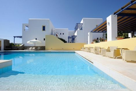 Hôtel Chroma / Arrivée Santorin 3* sup - PAROS - GRÈCE