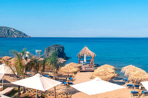 Grece-Athenes, Hôtel Eden Beach