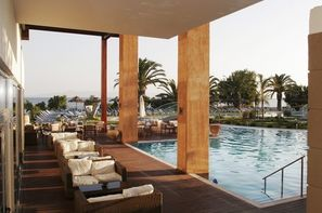 Grece - Rhodes, Hôtel Océanis vue montagne