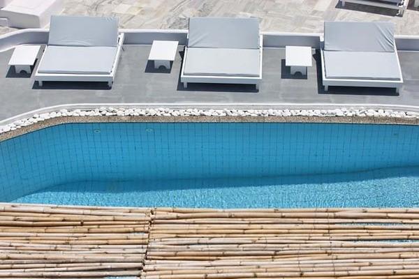 (fictif) - Hôtel Notos Therme & Spa 4* / Arrivée Santorin 4*