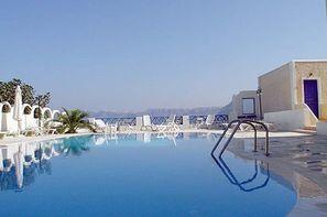 Grece - Santorin, Hôtel Santorini View 3* - arrivée Santorin 3*