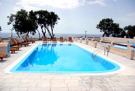 Hôtel Perissa Bay 3* - SANTORIN - GRÈCE