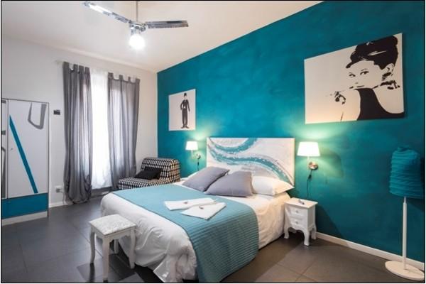 h tel le 2 civette b b chambres d 39 h tes rome italie partir pas cher. Black Bedroom Furniture Sets. Home Design Ideas