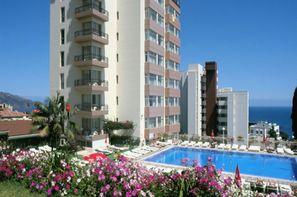 Madère-Funchal, Hôtel Dorisol : Buganvilia / Mimosa