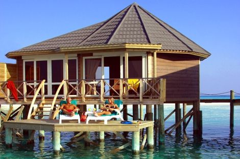 Hôtel Kuredu Island Garden Bungalow 4* - ATOLL LHAVIYANI - MALDIVES
