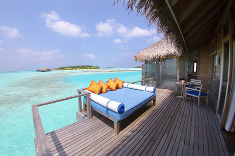 Terrasse - Anantara VELI Resort & Spa - Over-Water Bungalow