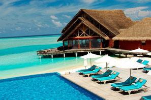 Maldives-Male, Hôtel Anantara Dhigu Resort & Spa