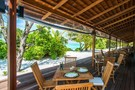 Restaurant - The Barefoot Eco Hotel Aux Maldives