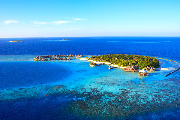 Vue panoramique - Hôtel Baros Maldives 5*