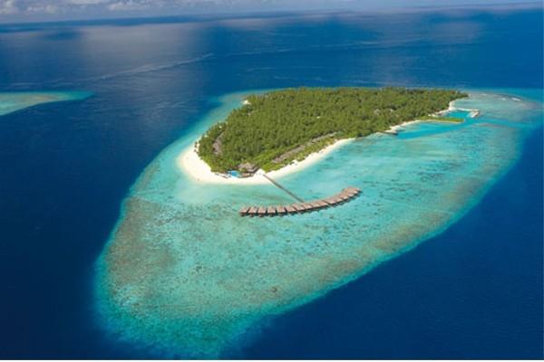 Vue panoramique - Hôtel Filitheyo Island Resort 4*