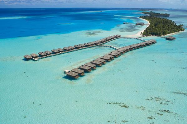 Vue panoramique - Hôtel Medhufushi Island Resort 4*