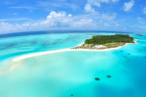 Vue panoramique - Sun Island Resort en Water Villa