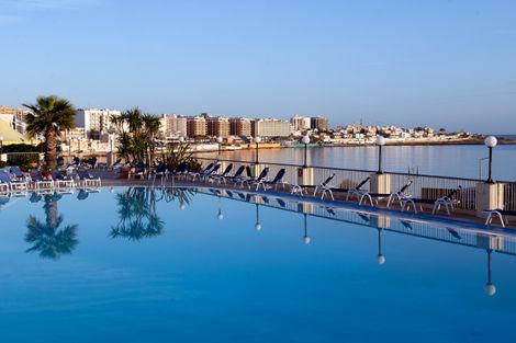 Hôtel Coastline 4* - BUGIBBA - MALTE