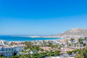 Maroc-Agadir, Hôtel Maxi Club Kenzi Europa